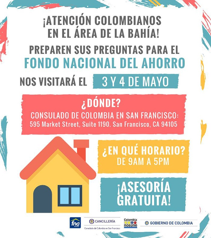 Colombianos en San Francisco