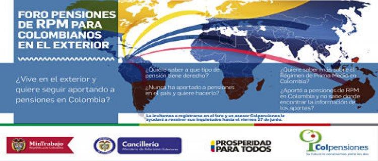 Foros Para Colombianos En El Exterior Colombianosune Ministerio De Relaciones Exteriores